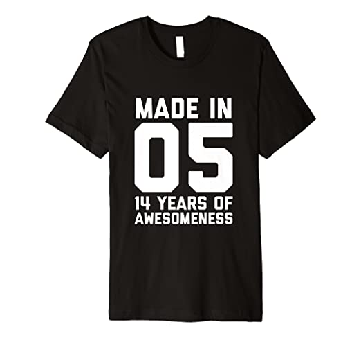 Image Unavailable Not Available For Color 14th Birthday Shirt Teen Girls Boy Gift Age 14 Year
