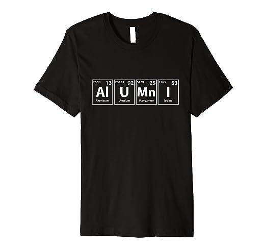 Amazon.com  Alumni Periodic Table Elements Spelling T-Shirt  Clothing 8cb1c893f