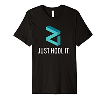 Amazon.com: Official Zilliqa Crypto Premium Shirt Just Hodl It ZIL on