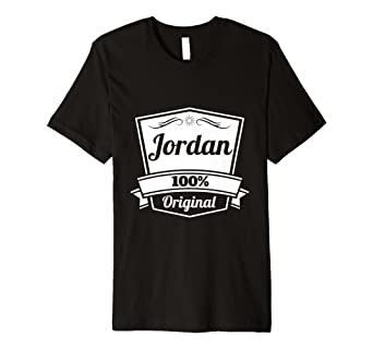 Jordan Gift Shirt Personalized Name Birthday TShirt