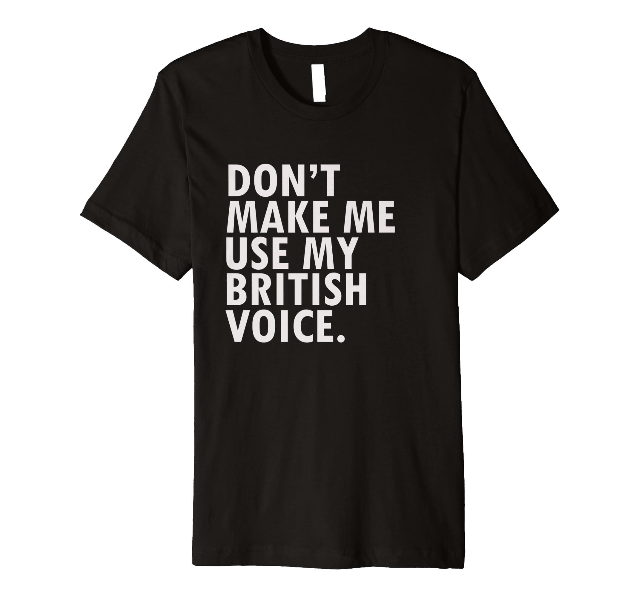 d2121ac31 Amazon.com: Funny British Shirt Tee United Kingdom England T-Shirt: Clothing
