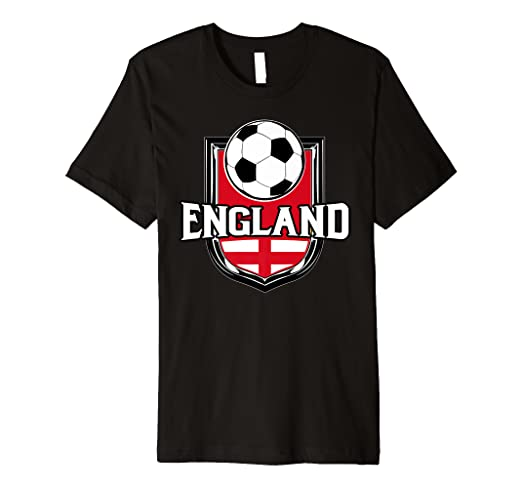 da31b8428 Image Unavailable. Image not available for. Color: England Soccer Ball T- Shirt | English Flag ...