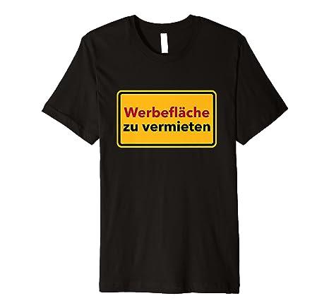 Werbefläche Zu Vermieten! T Shirt