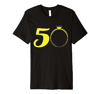 50 Hochzeitstag Shirt Goldene Hochzeit Geschenkidee Amazon