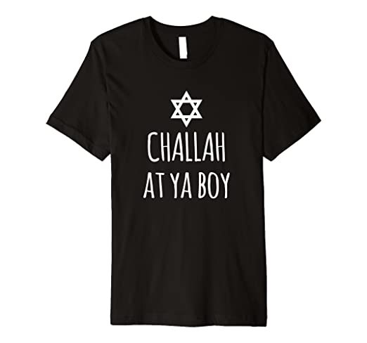 a4bb18e4 Image Unavailable. Image not available for. Color: Challah At Ya Boy T-Shirt  Funny Jewish ...
