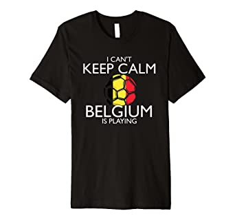 Image Unavailable. Image not available for. Color  Belgium Football Jersey  2018 Belgian Soccer T-Shirt fda090f25