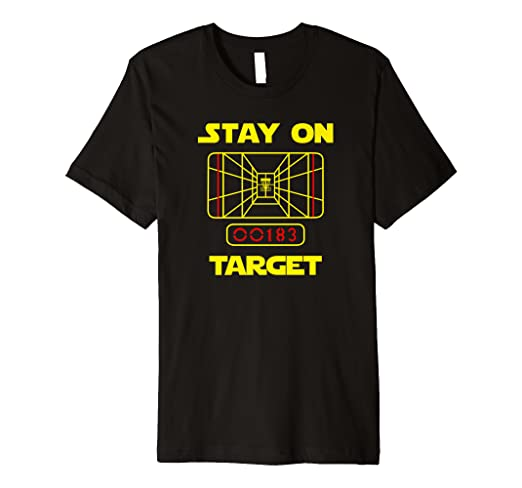850709540 Image Unavailable. Image not available for. Color: STAY ON TARGET- Disc  Golf T-Shirt