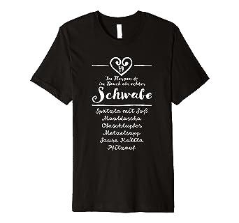Schwäbischer Spruch Essen Geschenk Maultaschen Spätzle Shirt