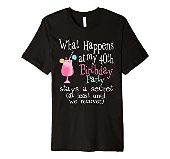 Amazon Cute 40th Birthday T Shirts
