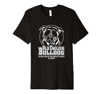 coole t shirt sprüche auf englisch Old English Bulldog Hund T Shirt Hunde Shirt cool spruch: Amazon  coole t shirt sprüche auf englisch