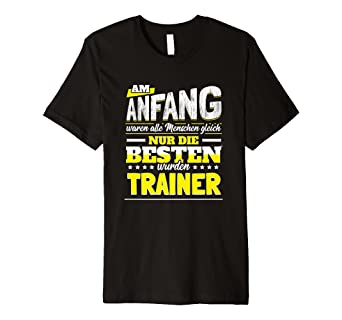 Lustiges Trainer Geschenk Team Fussball Handball Coach Shirt Amazon