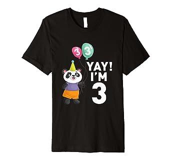Geburtstag Shirt Happy 3rd Birthday T
