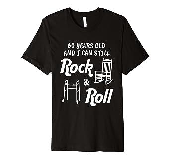 Funny Rock Amp Roll 60 Jahre Alt Geburtstag Geschenk T Shirt