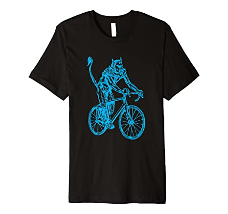 a5b083f67 Image Unavailable. Image not available for. Color  SEEMBO Devil On A Bicycle  T-Shirt ...