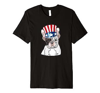 Französische Bulldogge T-Shirt Hat 4. Juli Amerikanische Flagge Hund ... 0c65063a55
