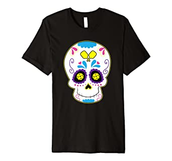 54dd62977 Image Unavailable. Image not available for. Color: Pickleball Sugar Skull  ...