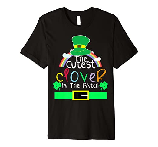 ecad566b Image Unavailable. Image not available for. Color: Toddler St Patricks Day  Shirt The Cutest ...