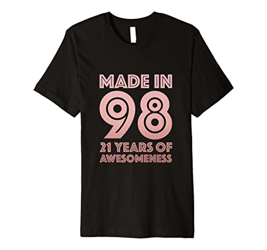Image Unavailable Not Available For Color 21st Birthday Shirt Age 21 Year Old Girl Gift Niece Daughter
