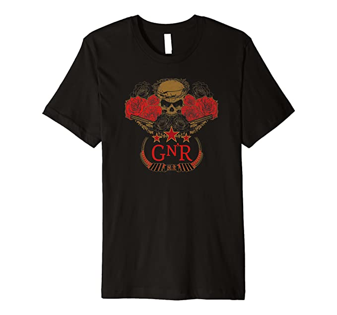 Guns N' Roses Chinese Democracy Skull Logo T-Shirt