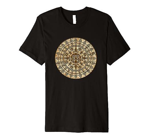 Amazon Aztec Prayer Circle Shirt Inca Mayan Indian Ancient