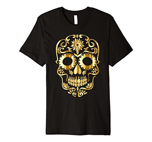 c13225bdb Image Unavailable. Image not available for. Color: Sugar Skull Halloween t  shirt