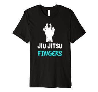 Jiu Jitsu Fingers T shirt MMA. Gym. Training. Martial Arts.