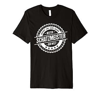 Top Schatzmeister Geschenk I Beruf Kollegen Job T-Shirt