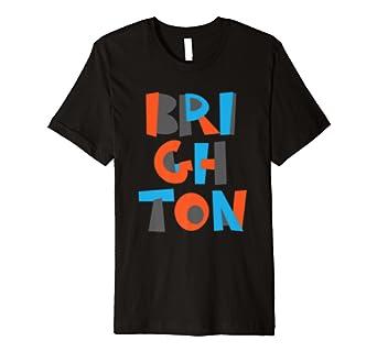 Brighton England Retro Travel Souvenir T-Shirt