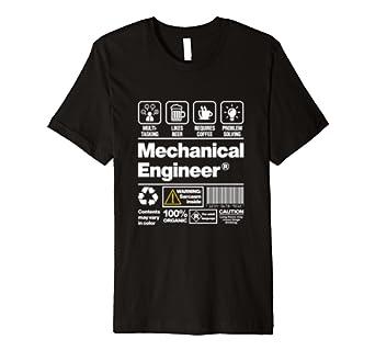 "'""Mechanical Engineer' Funny Mechaniker Shirt"