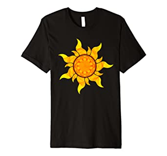 Sacred Geometry Seed of Life Sun T-Shirt