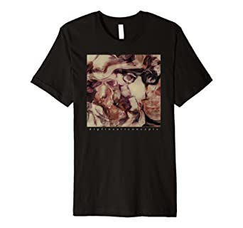 Dig Fine Art Custom T-Shirt Abstract figure Surreal Faces