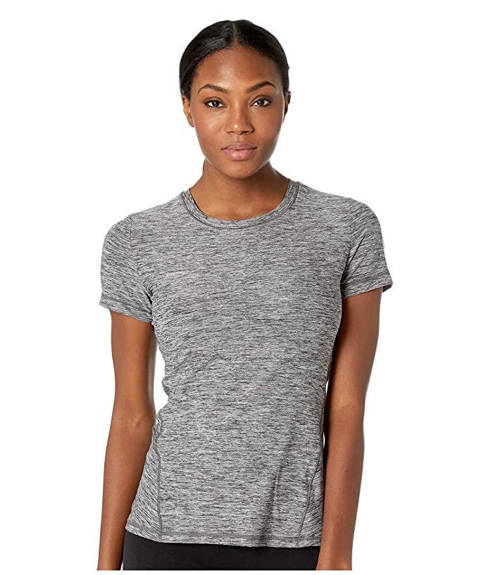 SHAPE Activewear Trail Tee (Nine Iron Heather) Women