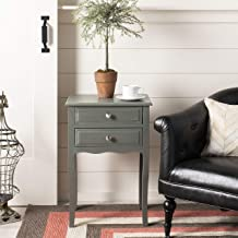 Safavieh American Homes Collection Lori French Grey End Table