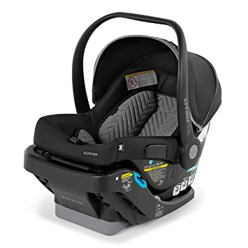 Summer Affirm 335 Rear-Facing Infant Car Seat, Onyx Black – Including Easy-to-Install Steeloc Car Seat Base: image
