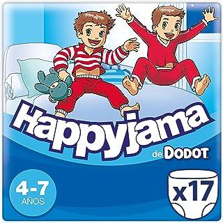 Dodot Happyjama - Pañales para Niño, 4-7 años, 17 pañ
