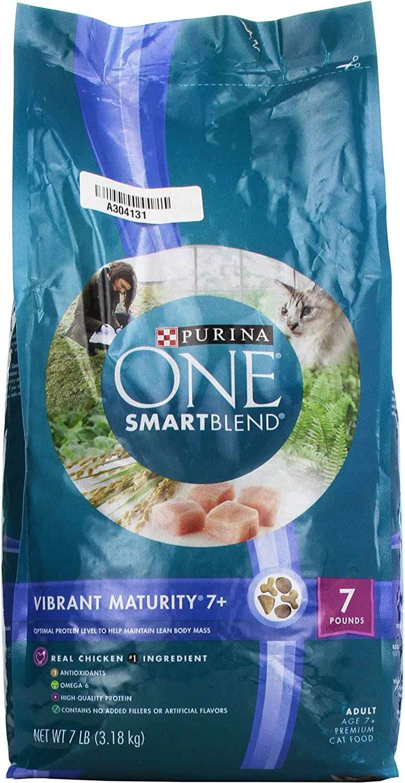 Purina ONE Vibrant Maturity 7+ Senior Formula Dry Cat Food