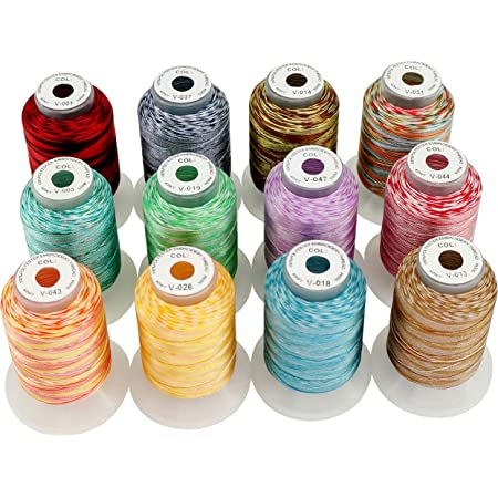 New brothread Janome Color 80 Spools Polyester Embroidery Machine Thread Kit