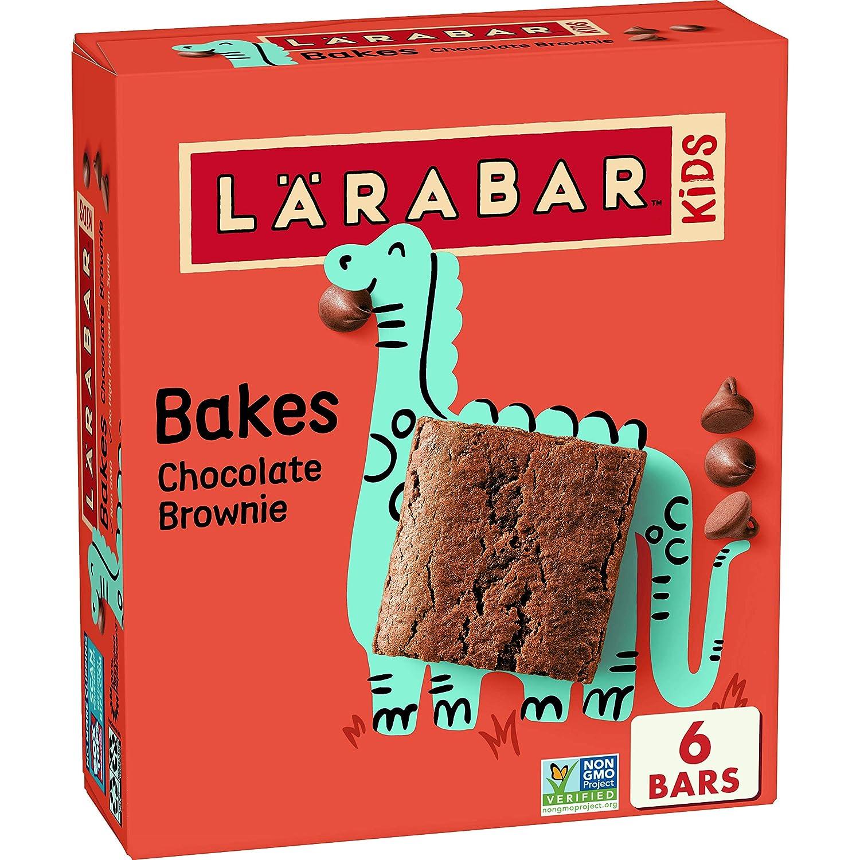 Larabar Kids Chocolate Brownie Gluten Free Nippon regular agency 0.96 oz Nippon regular agency Bar Bars 6