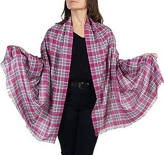 CJ Apparel Viola Piuma Design scialle sciarpa Wrap Stola Pashmina secondi ** NUOVO **