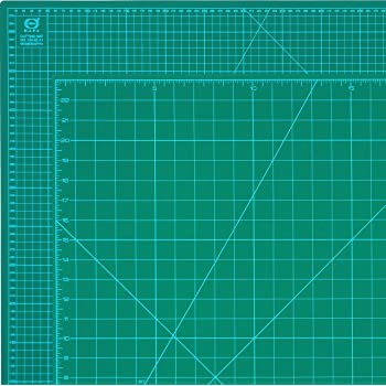 "DAFA Professional 36"" x 24"" Self-Healing, Double-Sided Cutting Mat, Rotary Blade Compatible, (36x24), (24x18), (18x12), (12x9) Sizes, for Sewing, Quilting, Arts & Crafts"