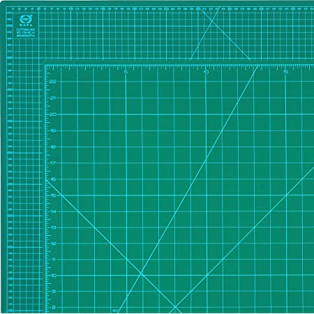 Self Healing Cutting Mat Green Single Side Professional Durable Non-Slip Rotary Cutting Mat with Clear Measurements for Arts /& Crafts 8 x 6