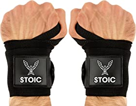 metal all black wrist wraps