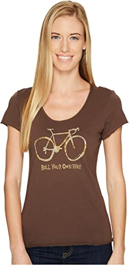 Life is Good - Roll Your Own Way Smooth Tee