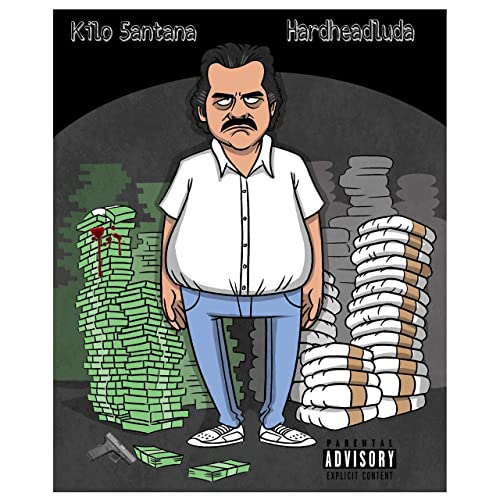 Pablo Escobar Feat Kilo 5antana Explicit By Hardheadluda On Amazon Music Amazon Com