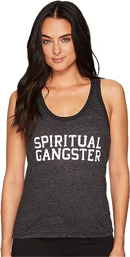 Spiritual Gangster - SG Varsity Boyfriend Tank Top