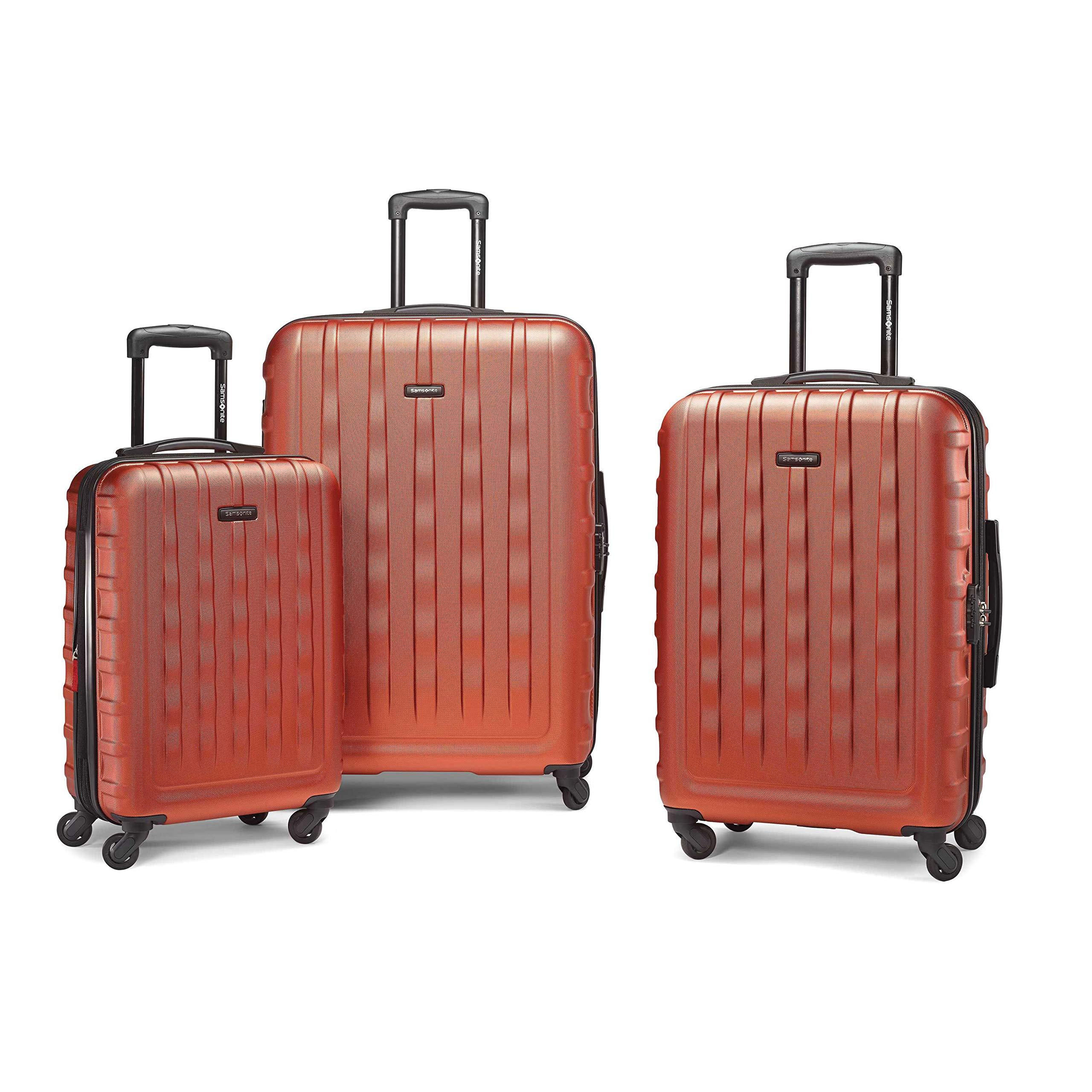 쌤소나이트 E-Volve디럭스 3피스 세트 Samsonite E-Volve DLX 3PC Set Orange