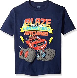 Nickelodeon Blaze and the Monster Machines ボーイズ 半袖 Tシャツ