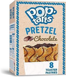 Pop-Tarts Pretzel, Breakfast Toaster Pastries, Chocolate(1 Pack 8 count)
