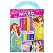 Disney Princess - I Can Be Princess My First Library Board Book Block 12-Book Set - PI Kids