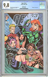 Gen 13#1 Variant Cover B (1995) CGC 9.8 White Pages 2054378023